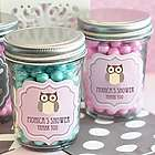 Personalized Baby Shower Mini Mason Jar Favors