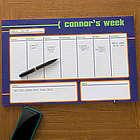 Boy's Personalized Desk Pad Calendar