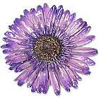 Blossom Into Purple Natural Flower Brooch