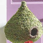 Super Moss Raindrop Birdhouse
