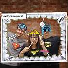 Photo Booth with Superman, Batman, Wonder Woman Props