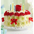 Bright Birthday Flower Cake