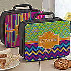 Personalized Girl's Bright and Cheerful Lunch Bag