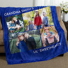 Picture Perfect 4 Photo Personalized Fleece Blanket