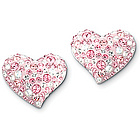 Swarovski Crystal Alana Heart Earrings