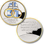 United in Christ Silver Medallion Keepsake Coin