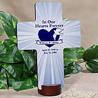 In Our Hearts Forever Memorial Cross