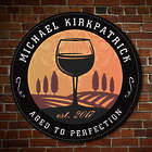 Personalized Tramonto Winery Sign