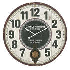 Chef LeNormand Round Wall Clock