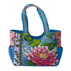 Tropical Lily Pad Medium Tote Bag