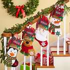 Personalized Festive Friends Christmas Stocking