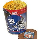 New York Giants 3 Way Popcorn Tin