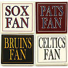 Boston Sports Fan Coaster Set