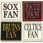 Boston Sports Fan Coaster Set