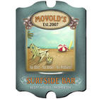 Vintage Surfside Personalized Bar Sign