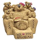 Personalized Kids Love Maw Maw Bears on Recliner