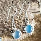 Marmara Sea Chalcedony Earrings