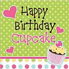 Sweet Treats Birthday Luncheon Napkins