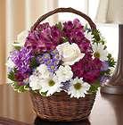 Peace, Prayers & Blessings Lavender & White Bouquet