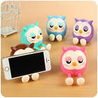 Cartoon Owl Multi-Function Mobile Phone Stand