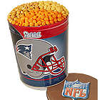 New England Patriots 3 Way Popcorn Tin
