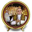 His Holiness, Pope Francis Commemorative Plate