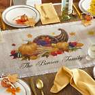 Personalized Harvest Gather Table Runner