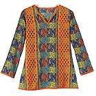 Summer of Love Tunic Top