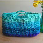 DIY Crochet Market Basket Kit