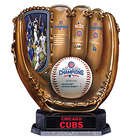 2016 World Series Champs Cubs Bronze Baseball Glove Sculpture