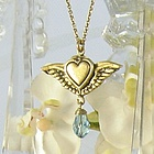 Reversible Angel Necklace