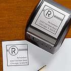 Square It Self-Inking Address Stamper