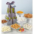 Simply Stated Congratulations Sweets and Snacks Gift Tower