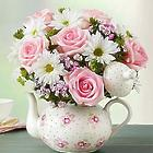 Teapot Full of Blooms Bouquet