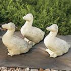 Ducklings Stone Garden Statues