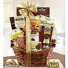 Tranquil Afternoon Sweets and Snacks Gift Basket