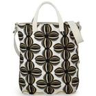 Primrose Embroidered Canvas Tote Bag