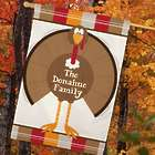 Personalized Turkey Welcome House Flag