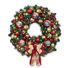Season of Splendor Lighted Christmas Wreath