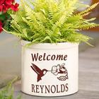 Hummingbird Design Personalized Stoneware Crock