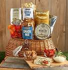 Fisherman's Favorite Snacks Gift Basket in Fishing Creel