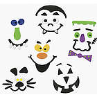 Foam Faces Pumpkin Decorating Kit