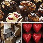 Valentine Splendor Chocolates Gift Tower