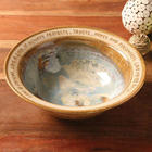 Love Is Patient Hand Crafted Wedding Bowl