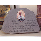 Photo Memorial Stone - When tomorrow..