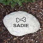 Engraved Pet Garden Stone