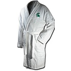 Michigan State Spartans Terrycloth Logo Bathrobe