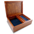 Men's Bubinga Wood Valet Box