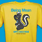 Being Mean Stinks Anti Bullying Awareness T-Shirt