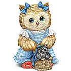 The Wizard Of Oz Dorothy and Toto Owl Figurine